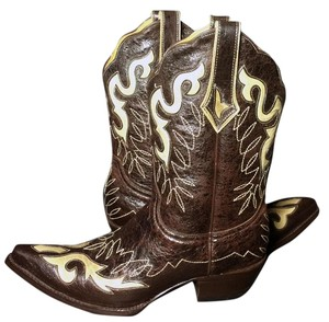 Old Gringo Cowgirl Western Size 7 Brown Boots