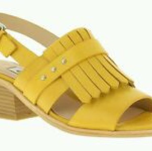 Clarks Yellow Sandals