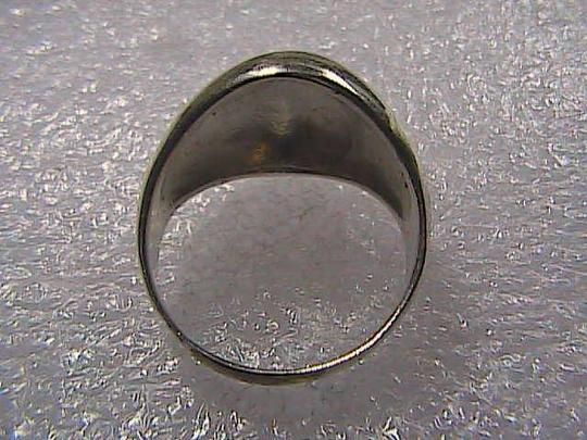 Vintage Vintage 925 Sterling Silver Doom Ring