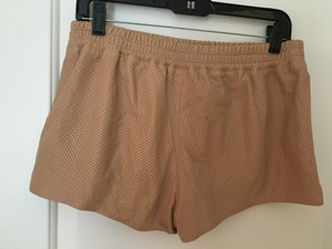PJK Patterson J. Kincaid Leather Mini Mini/Short Shorts Brown/Light coral