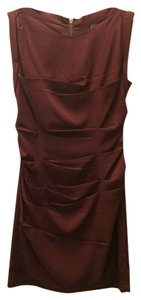 Express Maroon Bridesmaid Dress