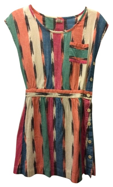Urban Outfitters short dress Multi Cotton Day Color Colorful on Tradesy
