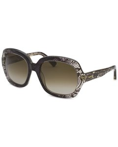 Valentino Valentino Grey Lace Sunglasses