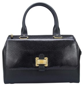 Oscar de la Renta Satchel in Black