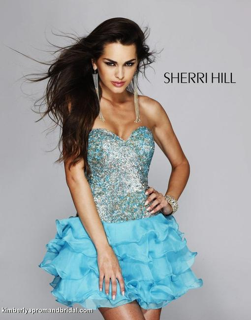 Sherri Hill Prom Pageant Homecoming Dress Image 3