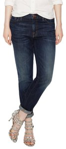 J Brand New Boyfriend Cut Jeans-Dark Rinse