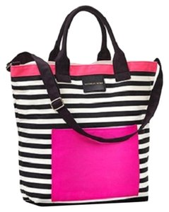 Victoria's Secret Vs Getaway Tote in Pink Black White