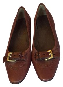 Jil Sander Brown Flats