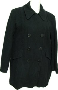 Charles Klein Wool Size 16 Xl Double Breasted Buttoned Jacket Vintage 16 Pea Coat