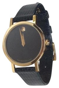 Movado MOVADO Black/Gold Ladies Watch