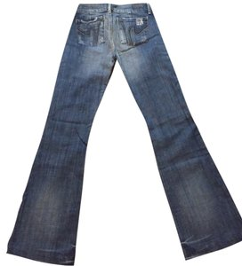 Citizens of Humanity Trouser/Wide Leg Jeans-Medium Wash