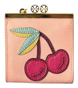 Tory Burch Tory Burch Cherry Coin Purse Key Chain
