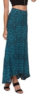 Nollie Maxi Skirt TRIBAL TEAL/BLACK