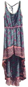 Urban Outfitters short dress Multi color, red, black, green on Tradesy