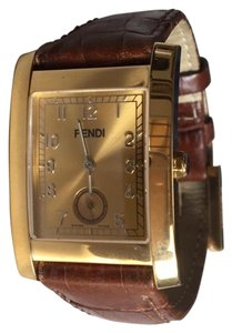 Fendi FENDI Gold Unisex Watch