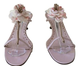 Manolo Blahnik Pink Sandals