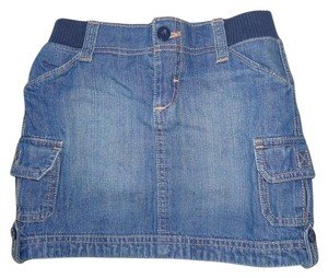 Old Navy Used Girls Skirt Denim
