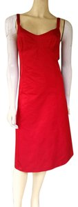 Michael Kors short dress Red Exposed Zipper on Tradesy