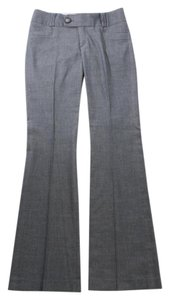 Banana Republic Tailored Sexy Flare Martin Fit Trouser Pants Blue Gray