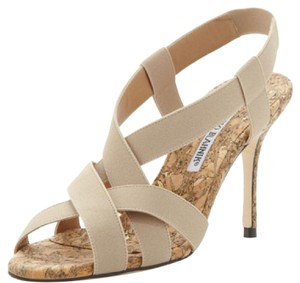 Manolo Blahnik Canvas Sandals