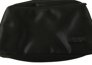 Chanel CHANEL BLACK COSMETIC CASE LINED 8.5