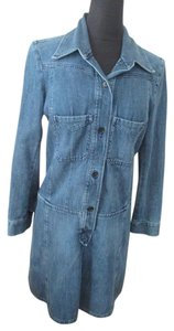 toile Isabel Marant short dress Blue Etoile Marat Denim on Tradesy