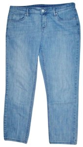 Liz Claiborne Capri/Cropped Denim-Light Wash