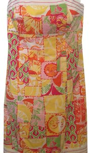 Lilly Pulitzer short dress Colorful on Tradesy