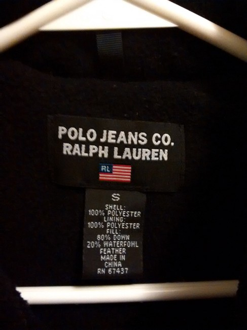 Polo Ralph Lauren Down Embroidered Fleece Vest