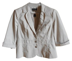 White House | Black Market silver white Blazer