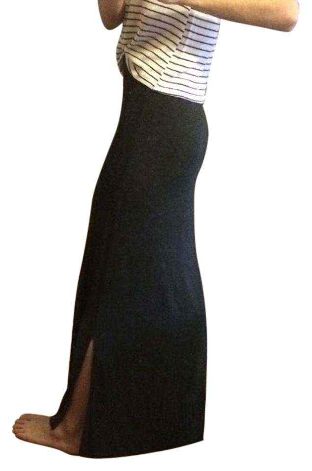 superior materials affordable price attractivefashion Heather Charcoal Grey Skirt