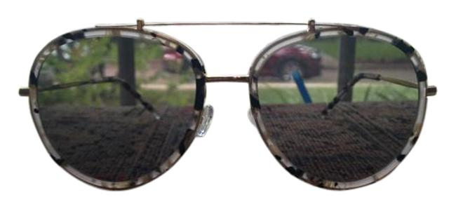 Item - Black White and Tan Tortoise Design with Gold Hardware Store Gift Therefore No Formal Tags. However Packaging Is In Tact. Sunglasses