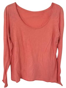 Anthropologie Pure + Good T Shirt Coral
