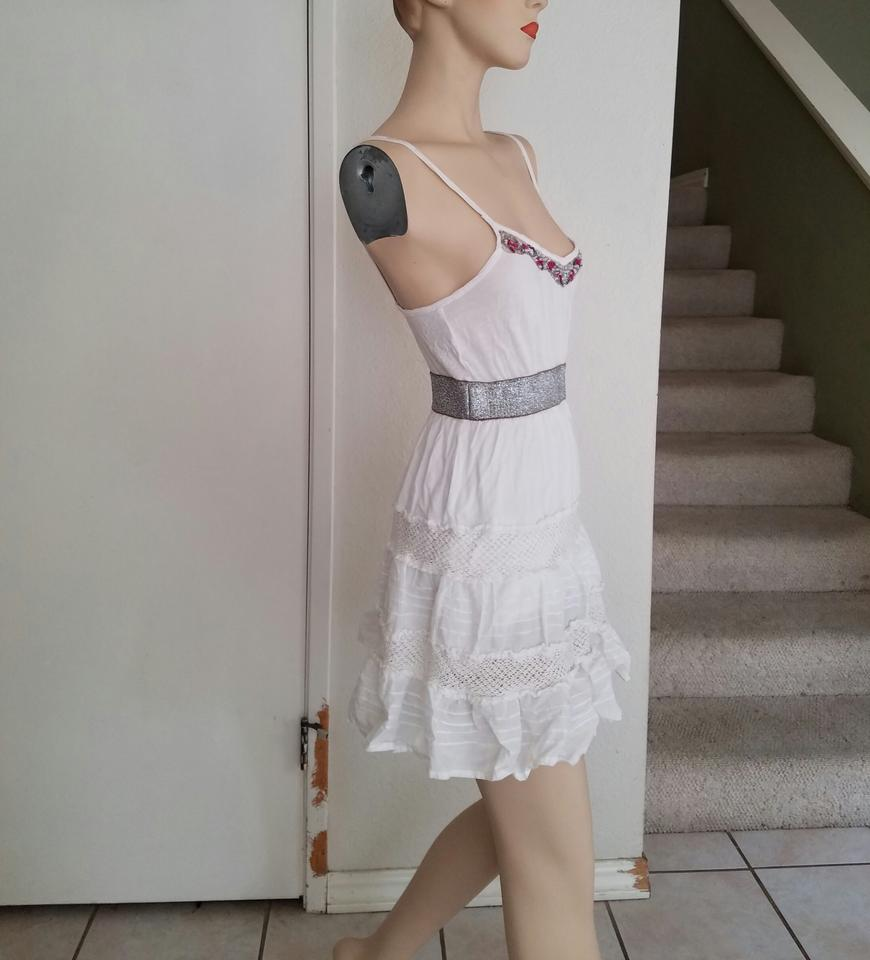 Casual Xs People White Dress Free an8tUva