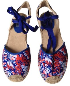 Dolce Vita Espadrille Red/White/Blue Flats