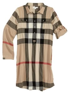 Burberry short dress Plaid Kids on Tradesy