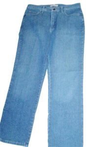 Lee Short Straight Leg Jeans-Medium Wash