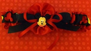 Red Mickey Mouse Garter