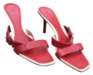 Gucci Red Sandals