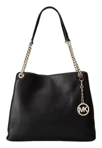 Michael Kors Tote in black with gold hard ware