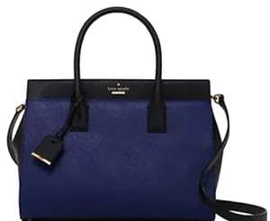Kate Spade Satchel in Deep Indigo And Black