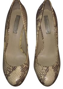 BCBGMAXAZRIA Snake print leather Platforms