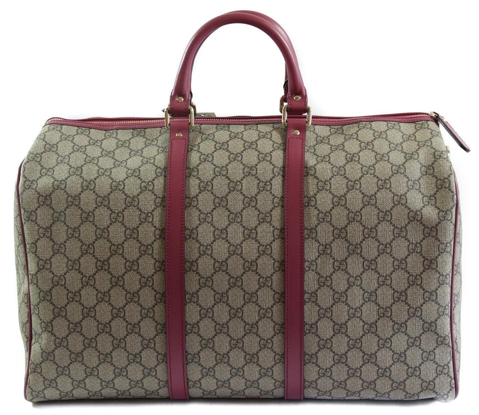 700d5ebe95e6 Gucci Duffle 216484 Carry-on Shoulder Strap Multicolor Gg Supreme Canvas  Weekend/Travel Bag - Tradesy
