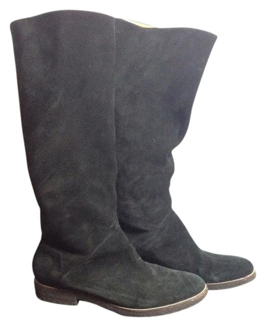 Item - Black Suede Slouch Boots/Booties Size US 8.5 Regular (M, B)