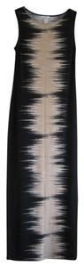 Black combo (beige) Maxi Dress by Bar III