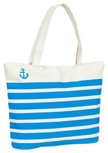 Accessory Hut Nautical Anchor Tote Striped Beach Pool Park Baby Diaper Shoulder Bag