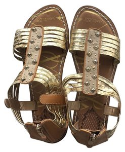 Sam & Libby gold sandals Sandals