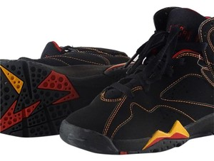 Nike Black, Red, and Yellow. Athletic