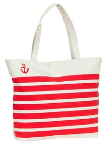 Accessory Hut Nautical Anchor Tote Striped Beach Diaper Baby Shoulder Bag