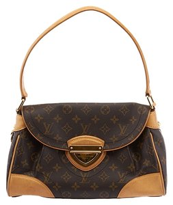 Louis Vuitton Lv Beverly Monogram Hobo Bag